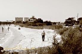 Southport Shore Line Near the Marina